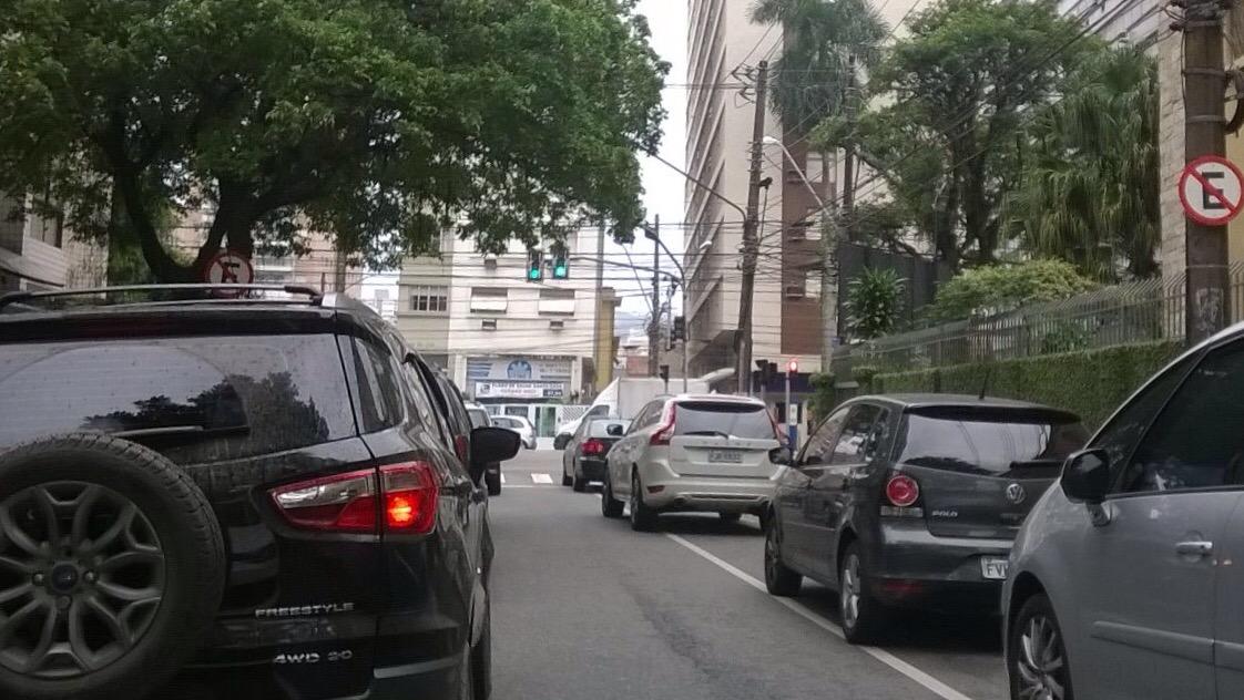 A mobilidade em Santos